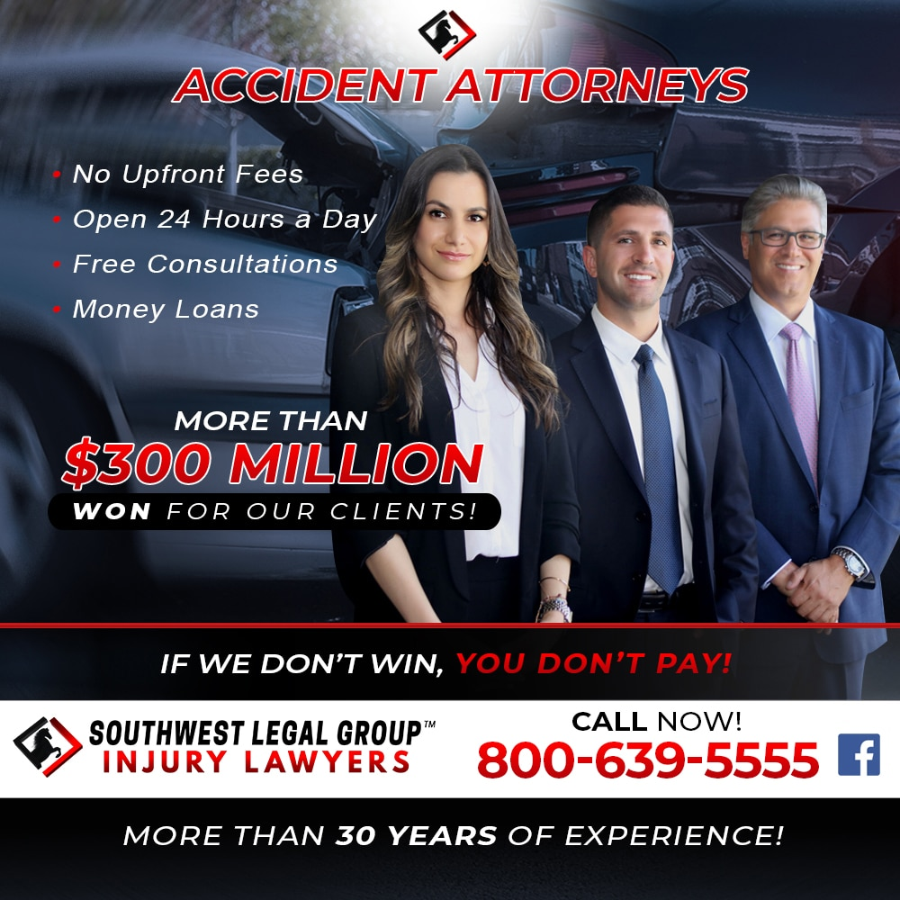 accident injury lawyers in woodland hills
